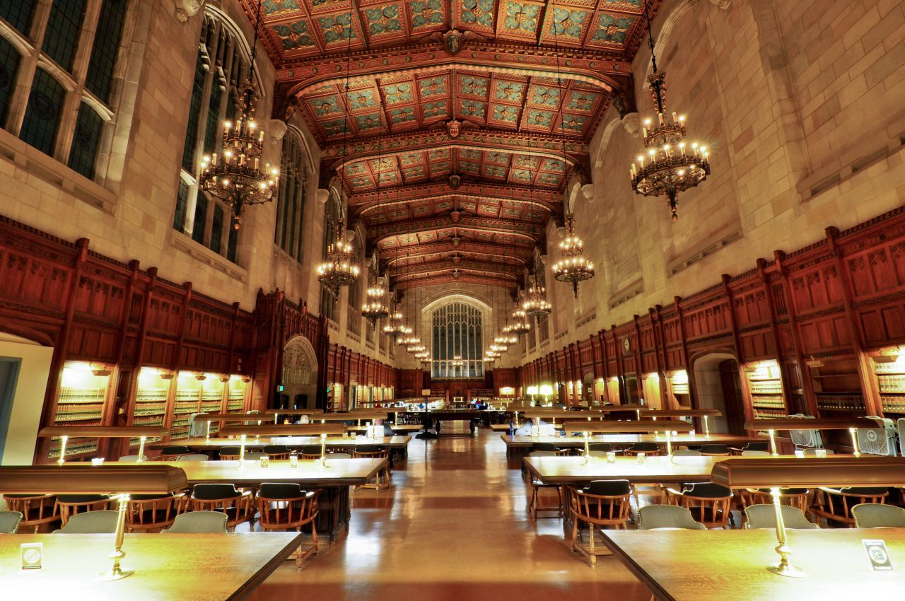 'UniversityofMichiganLawLibrary' by AndrewHorne - Own work. Licensed under CC BY-SA 3.0 via Commons - https://commons.wikimedia.org/wiki/File:UniversityofMichiganLawLibrary.jpg#/media/File:UniversityofMichiganLawLibrary.jpg