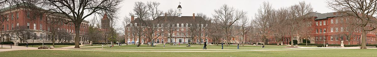 'UIUC Main Quad' by Daniel Schwen - Own work. Licensed under CC BY-SA 4.0 via Commons - https://commons.wikimedia.org/wiki/File:UIUC_Main_Quad.jpg#/media/File:UIUC_Main_Quad.jpg